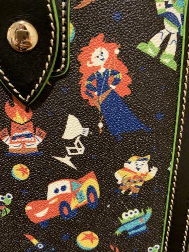 Pixar 2020 Dooney & Bourke Print Close-Up (Merida)