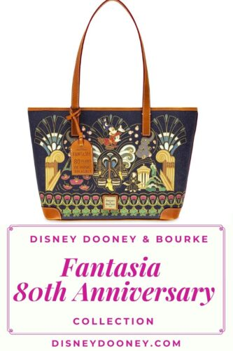 Pin me - Disney Dooney and Bourke Fantasia 80th Anniversary Collection