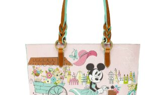 Flower and Garden Festival 2020 Tote (back) by Dooney & Bourke