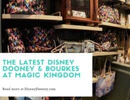 Pin me - The Latest Disney Dooney and Bourke Bags at Magic Kingdom