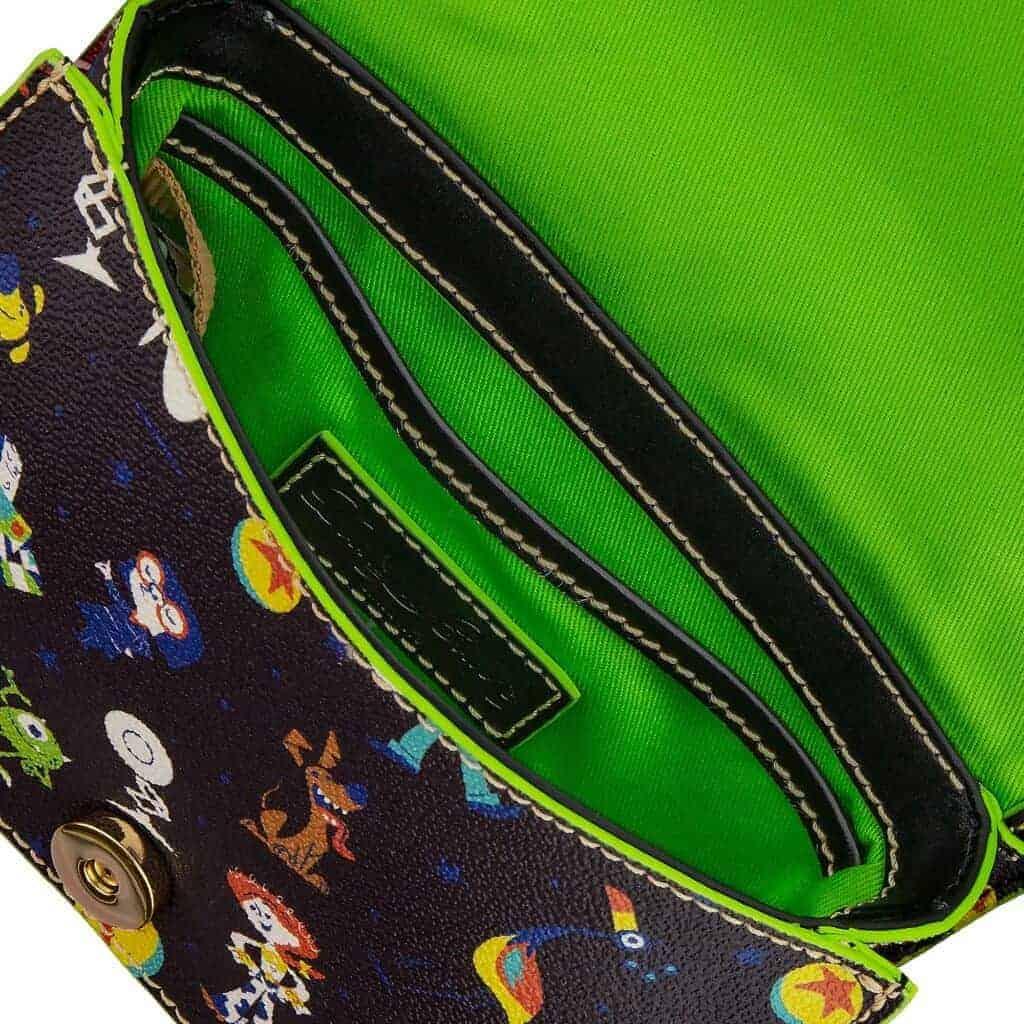 Pixar Crossbody Bag (open) by Dooney & Bourke