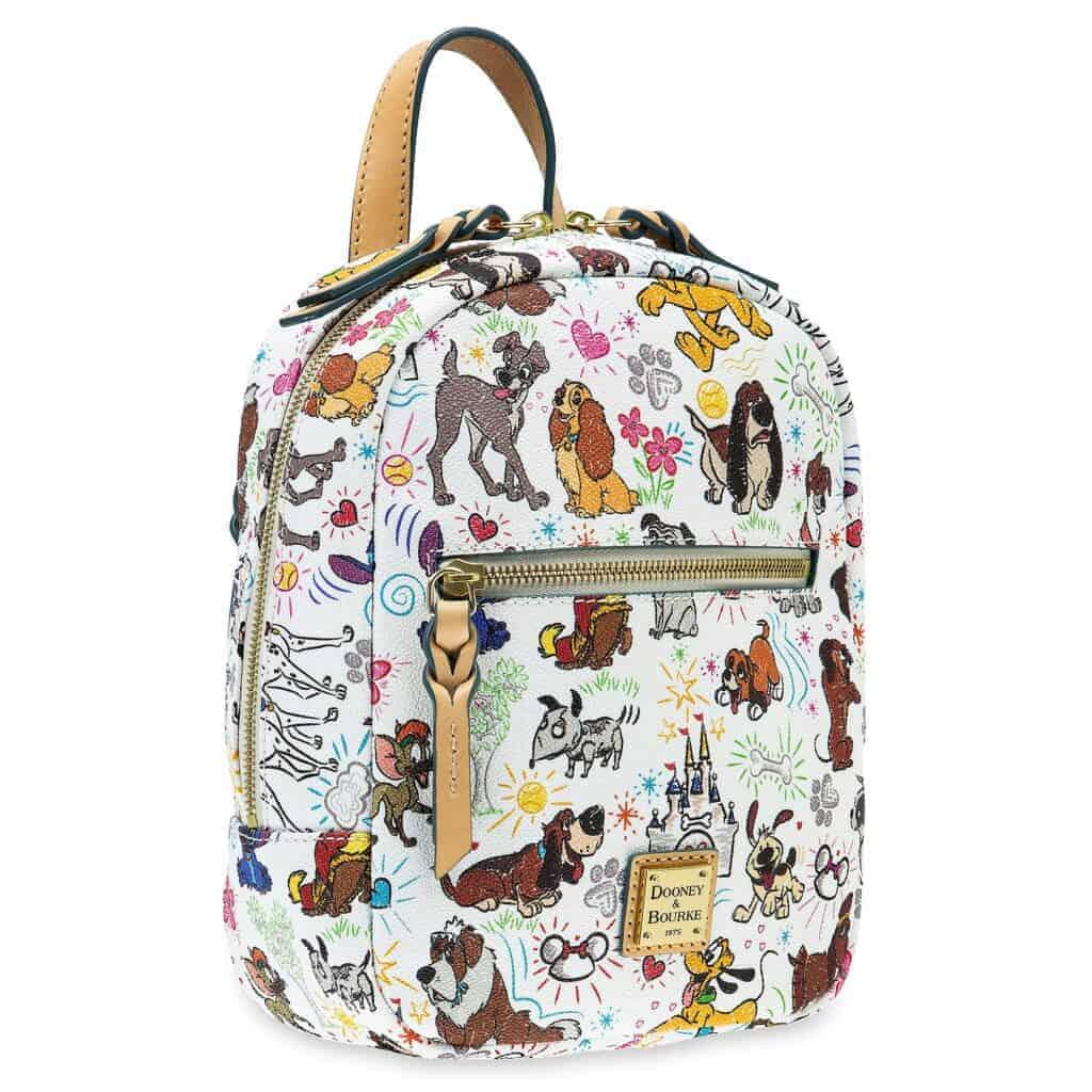 Disney Dogs Sketch Mini Backpack by Dooney & Bourke