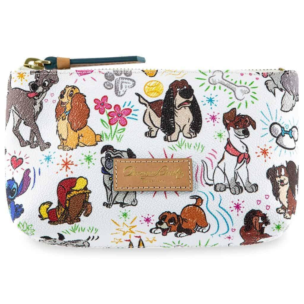 Disney Dogs Sketch Cosmetic Case by Dooney & Bourke