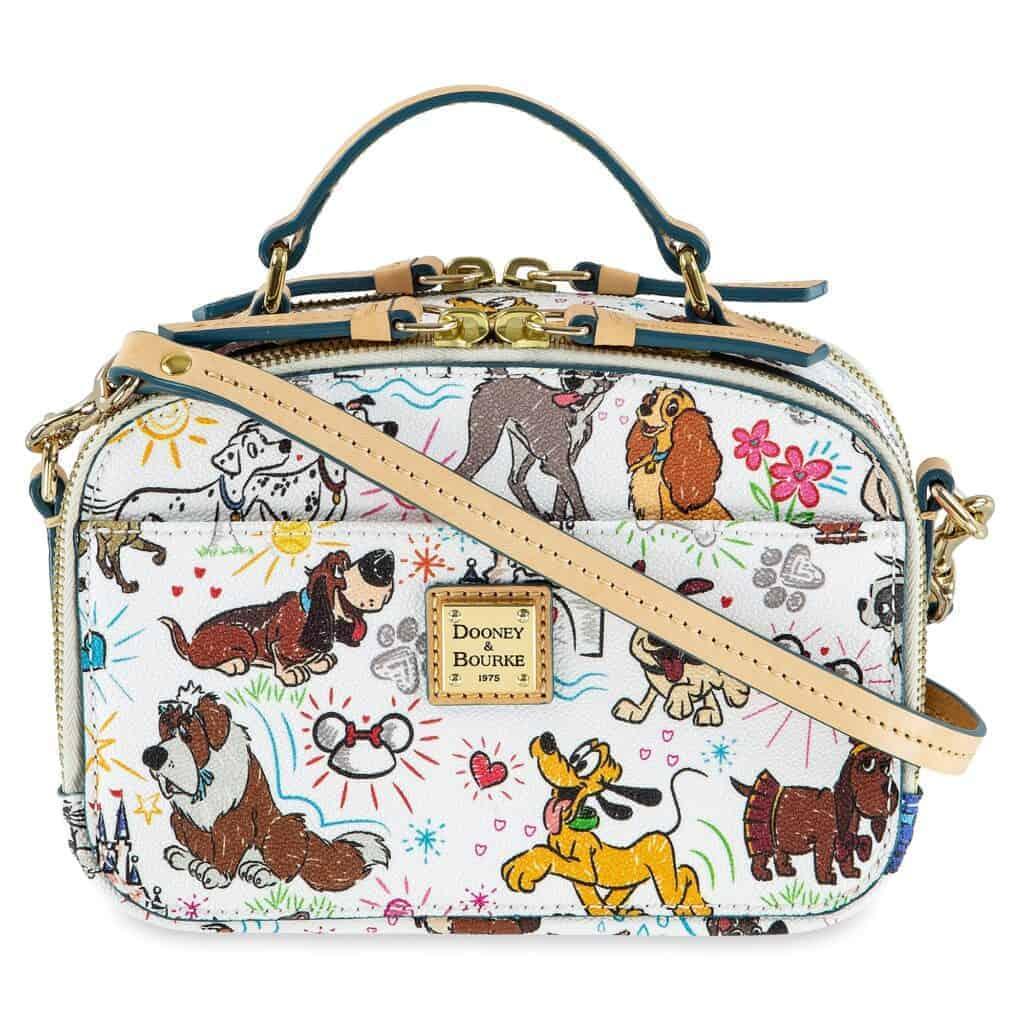 Disney Dogs Sketch Ambler Crossbody Bag by Dooney & Bourke