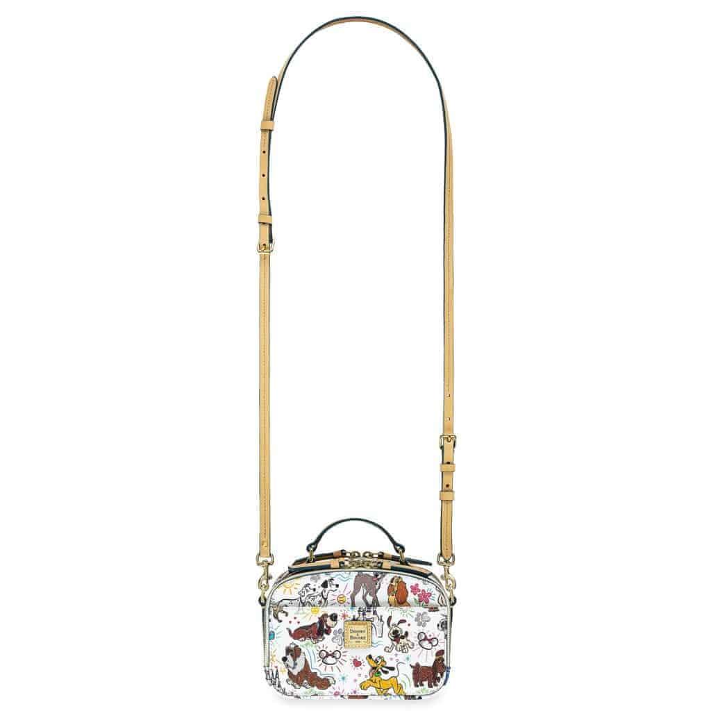 Disney Dogs Sketch Ambler Crossbody Bag (strap) by Dooney & Bourke