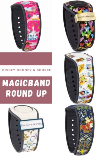 Pin me - Disney Dooney and Bourke MagicBand Round Up