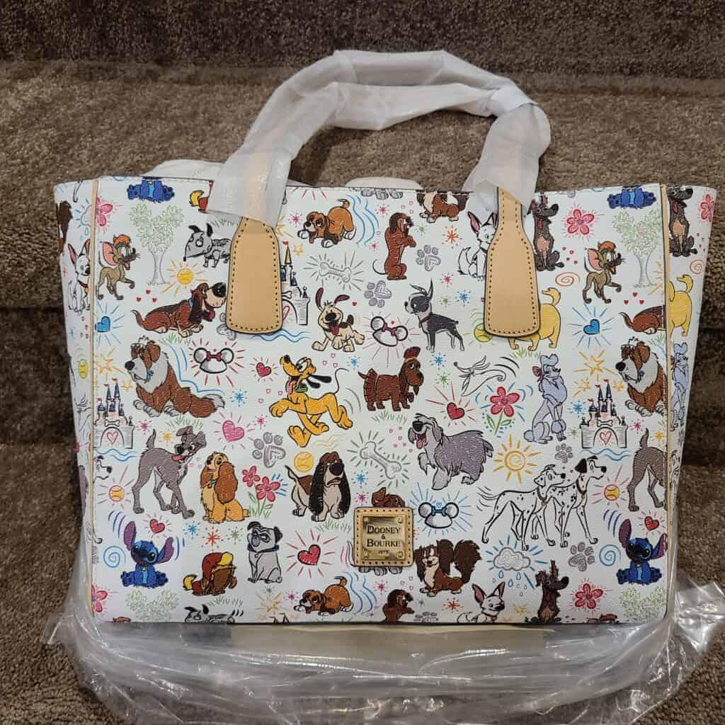 Disney Dogs Sketch Tote Bag by Dooney & Bourke