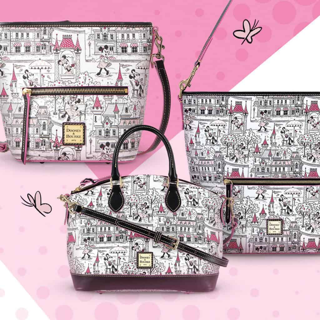 Minnie Mouse Disney Parks Collection by Dooney & Bourke