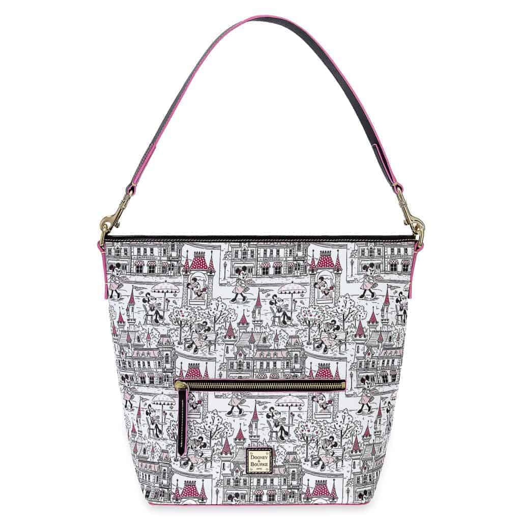 Minnie Mouse Disney Parks Hobo Bag by Dooney and Bourke