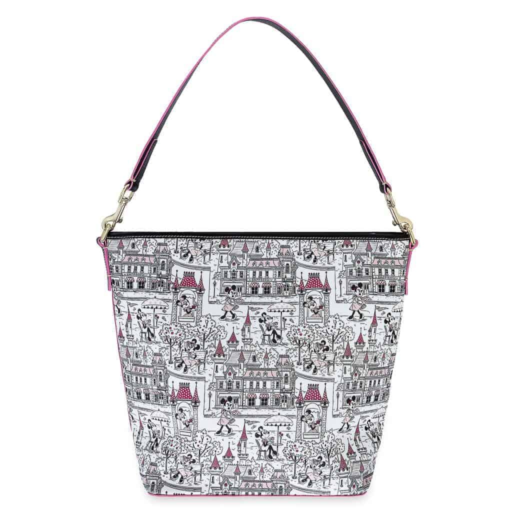 Minnie Mouse Disney Parks Hobo Bag (back) by Dooney and Bourke