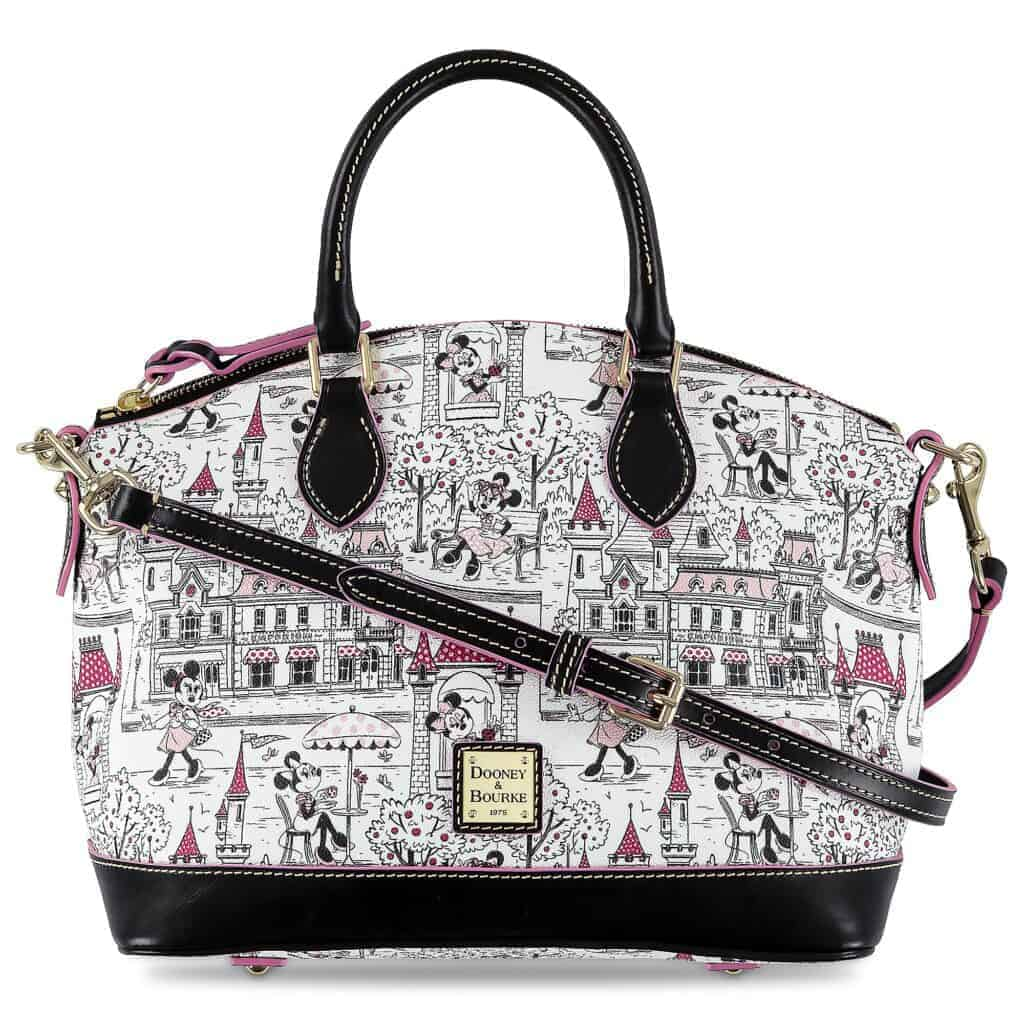 Minnie Mouse Disney Parks Satchel by Dooney and Bourke
