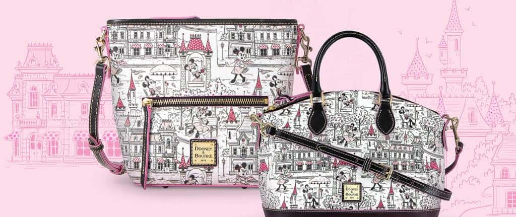 Minnie Mouse Disney Parks Crossbody and Satchel