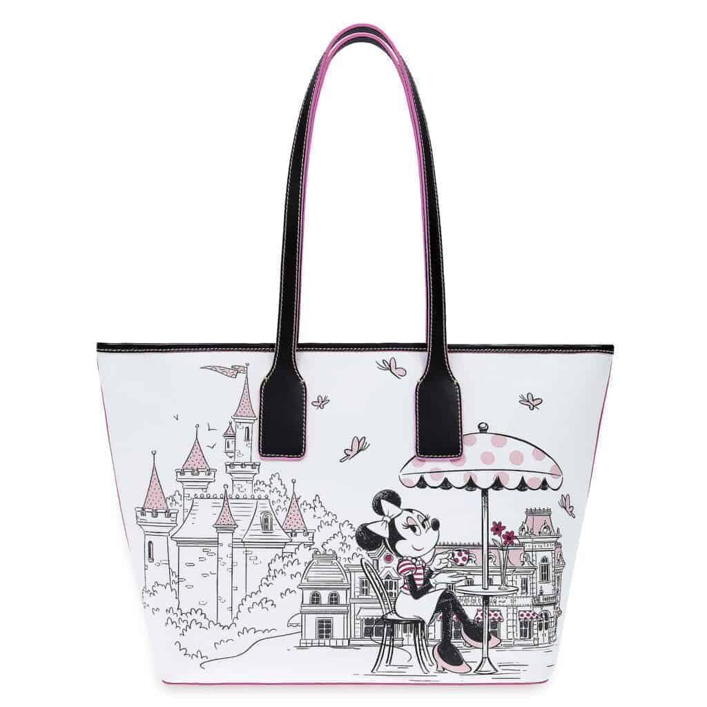 Minnie Mouse Disney Parks Tote (back) by Dooney & Bourke