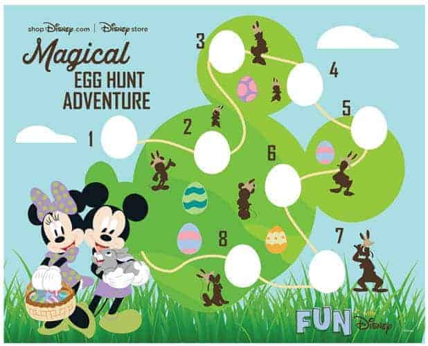 Printable Easter Egg Hunt preview