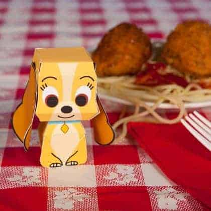 lady and the tramp 3d cuties printables photo 420x420 fs 0013