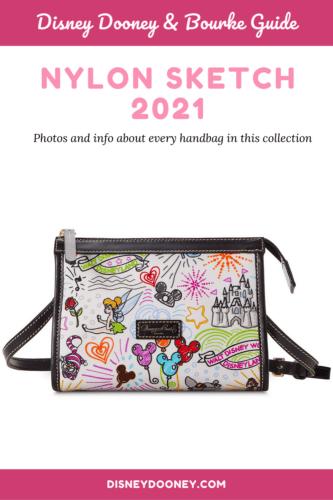 Pin me - Disney Sketch Nylon 2021