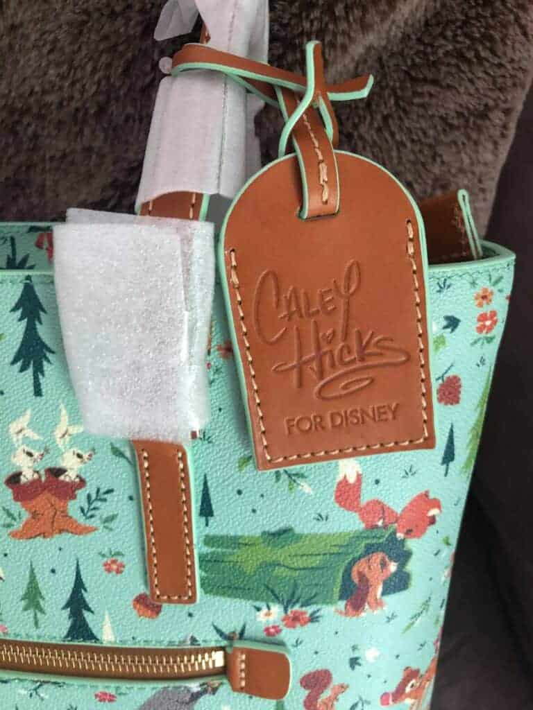 Bambi and Friends (Forest Friends) Shopper Tote (hangtag) by Dooney and Bourke