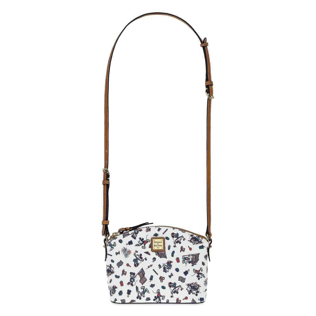Mickey and Minnie Mouse Americana Crossbody Bag (strap) by Dooney & Bourke