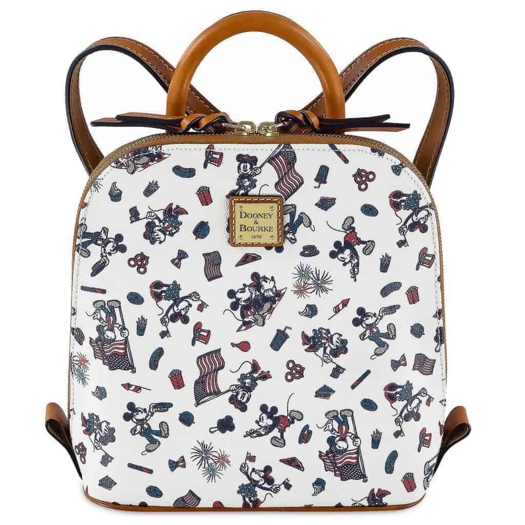 Mickey and Minnie Mouse Americana Mini Backpack by Dooney & Bourke