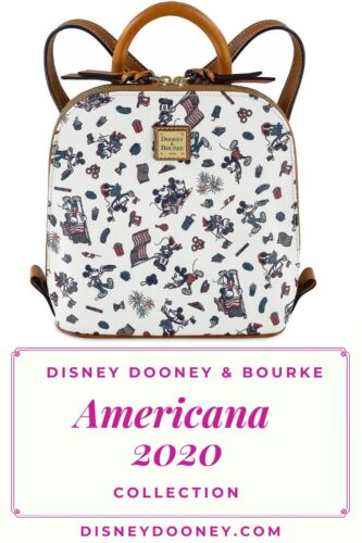 Pin me - Disney Dooney and Bourke Mickey and Minnie Mouse Americana 2020 Collection