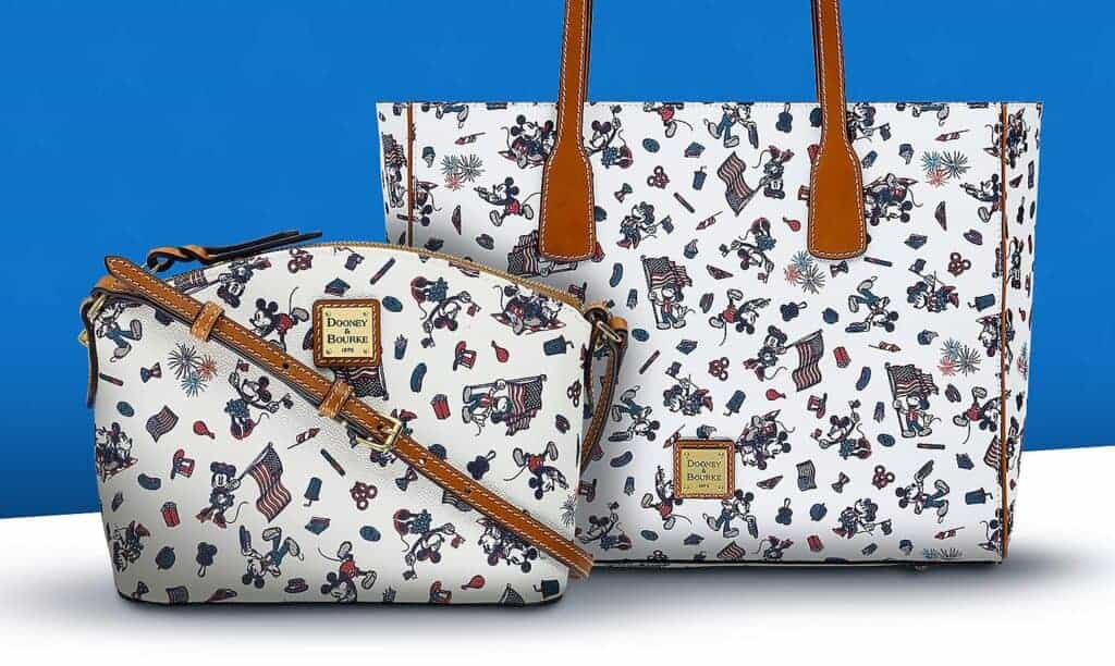 Mickey and Minnie Mouse Americana Crossbody and Crossbody Bag by Dooney & Bourke