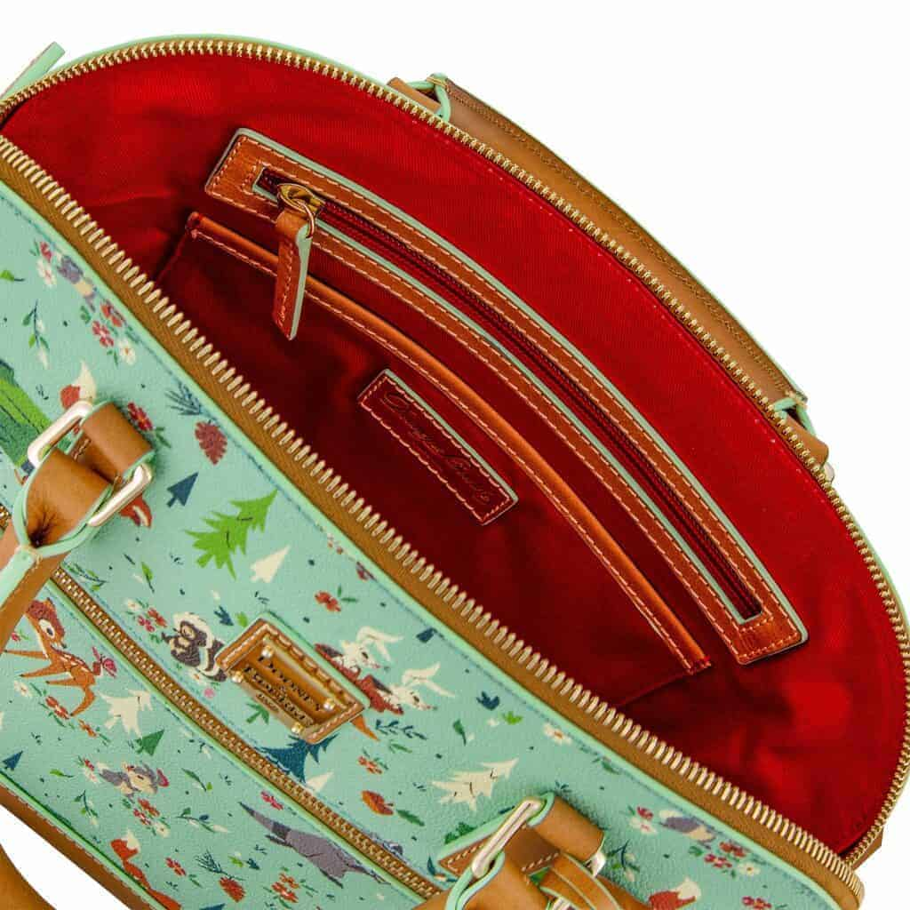 Bambi and Friends (Forest Friends) Satchel (open) by Dooney and Bourke
