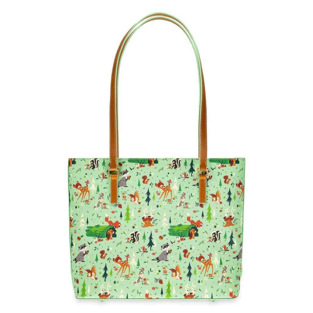 Bambi and Friends (Forest Friends) Shopper Tote (back) by Dooney and Bourke