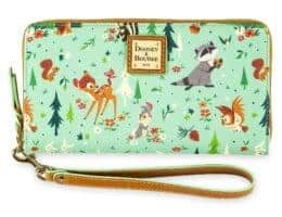 Bambi and Friends (Forest Friends) Wristlet by Dooney and Bourke