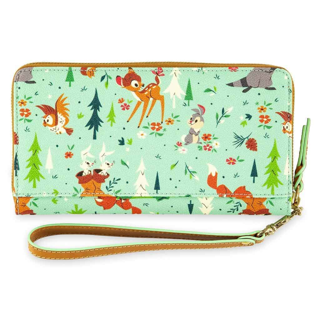 Bambi and Friends (Forest Friends) Wristlet (back) by Dooney and Bourke