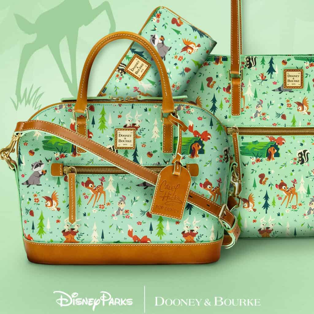 Bambi & Forest Friends Collection by Dooney & Bourke