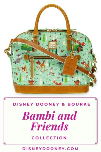 Pin me - Disney Dooney & Bourke Bambi and Friends (Forest Friends) Collection