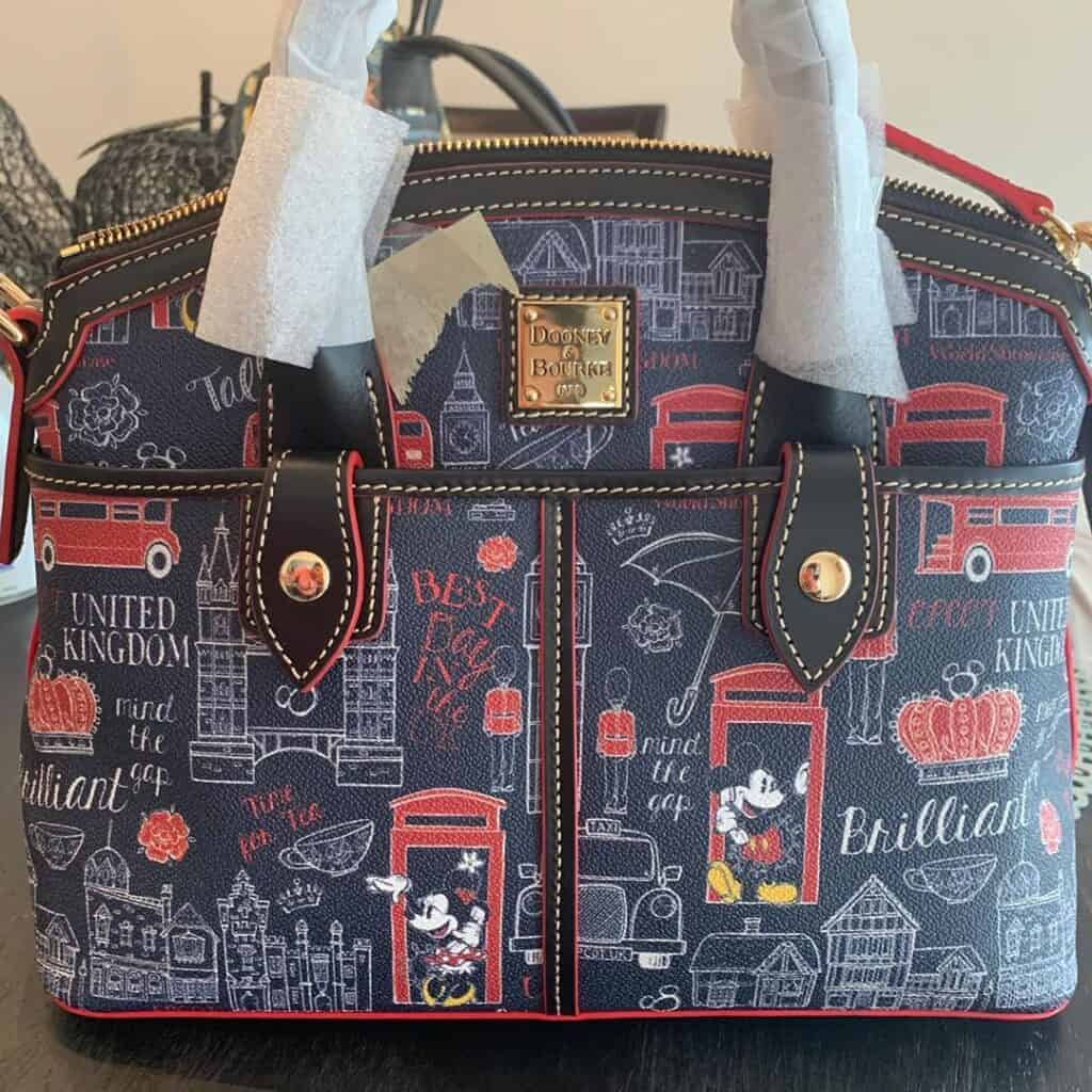 Epcot World Showcase: United Kingdom Satchel by Disney Dooney & Bourke