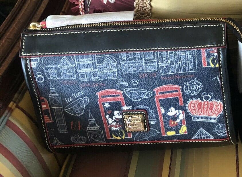 Epcot World Showcase: United Kingdom Crossbody Bag by Disney Dooney & Bourke