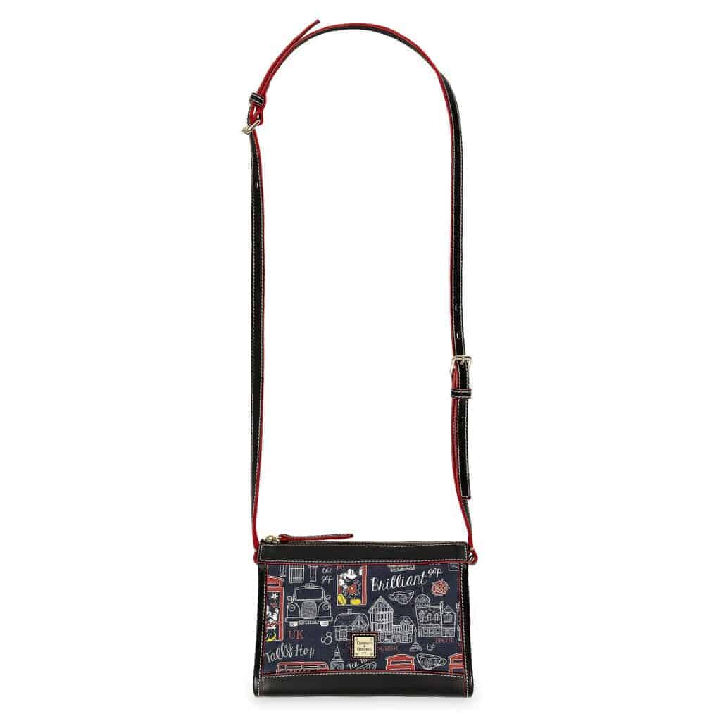 Mickey and Minnie Mouse Hello Mate Crossbody Purse (strap) by Dooney & Bourke