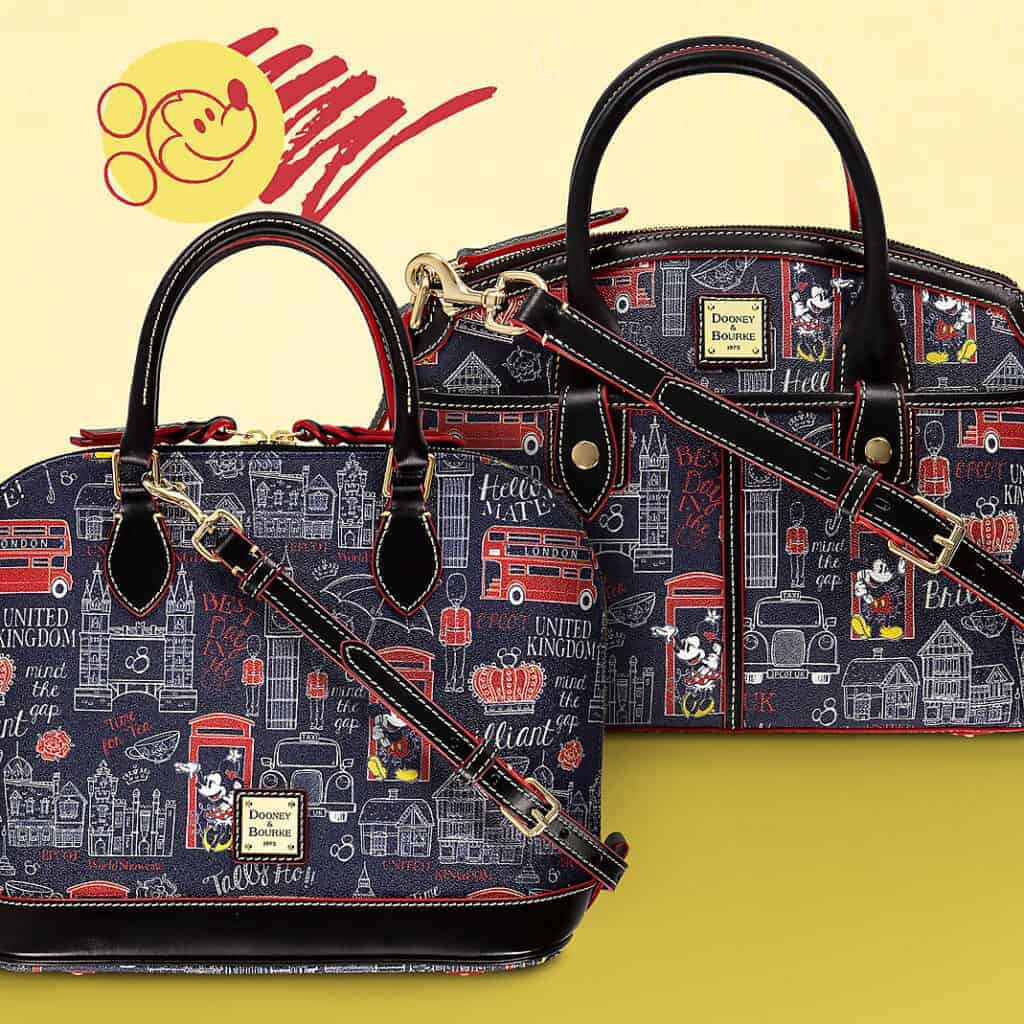 United Kingdom Disney Dooney Bourke Satchel and Crossbody