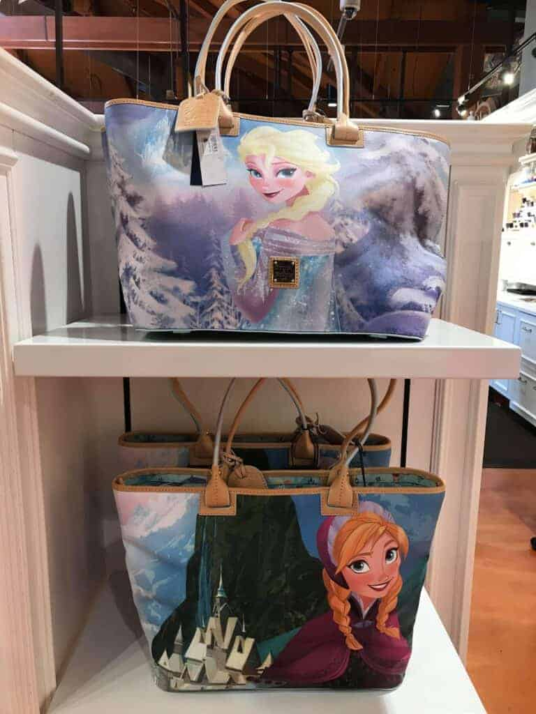 Frozen Tote at Ever After in Disney Springs