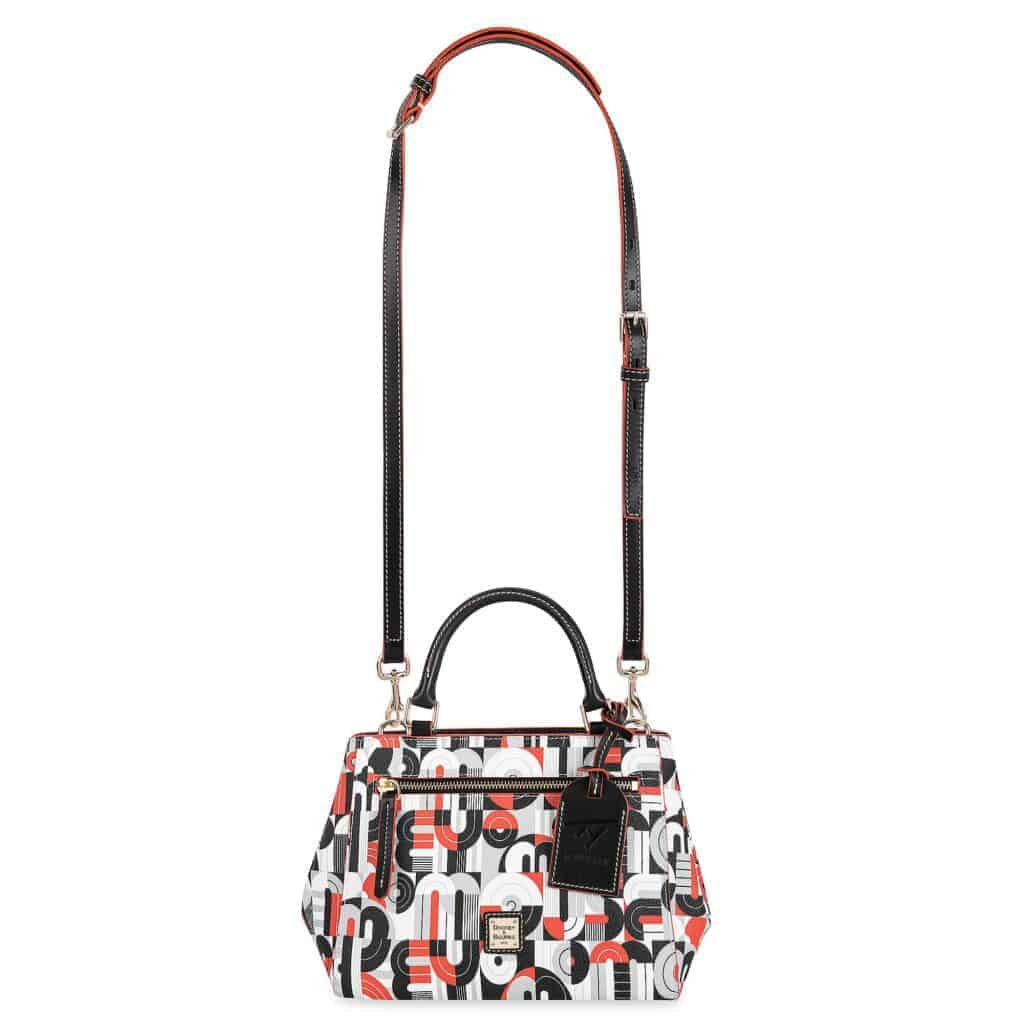 Mickey and Minnie Mouse Geometric Satchel (strap) by Dooney & Bourke