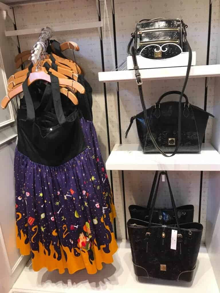 Black Leather Sketch Collection at Ever After in Disney Springs