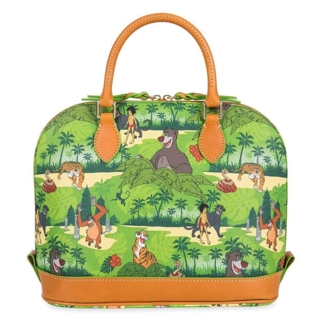 The Jungle Book Zip Satchel (back) by Dooney & Bourke