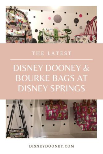 Pin me - The Latest Disney Dooney and Bourke Bags at Disney Springs