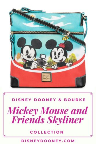 Pin me - Disney Dooney and Bourke Mickey Mouse and Friends Skyliner Collection
