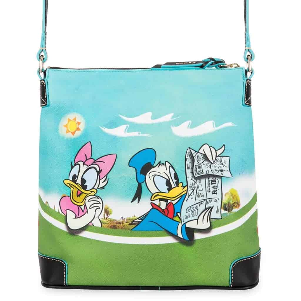 Mickey Mouse and Friends Skyliner Crossbody Bag (back) by Dooney & Bourke