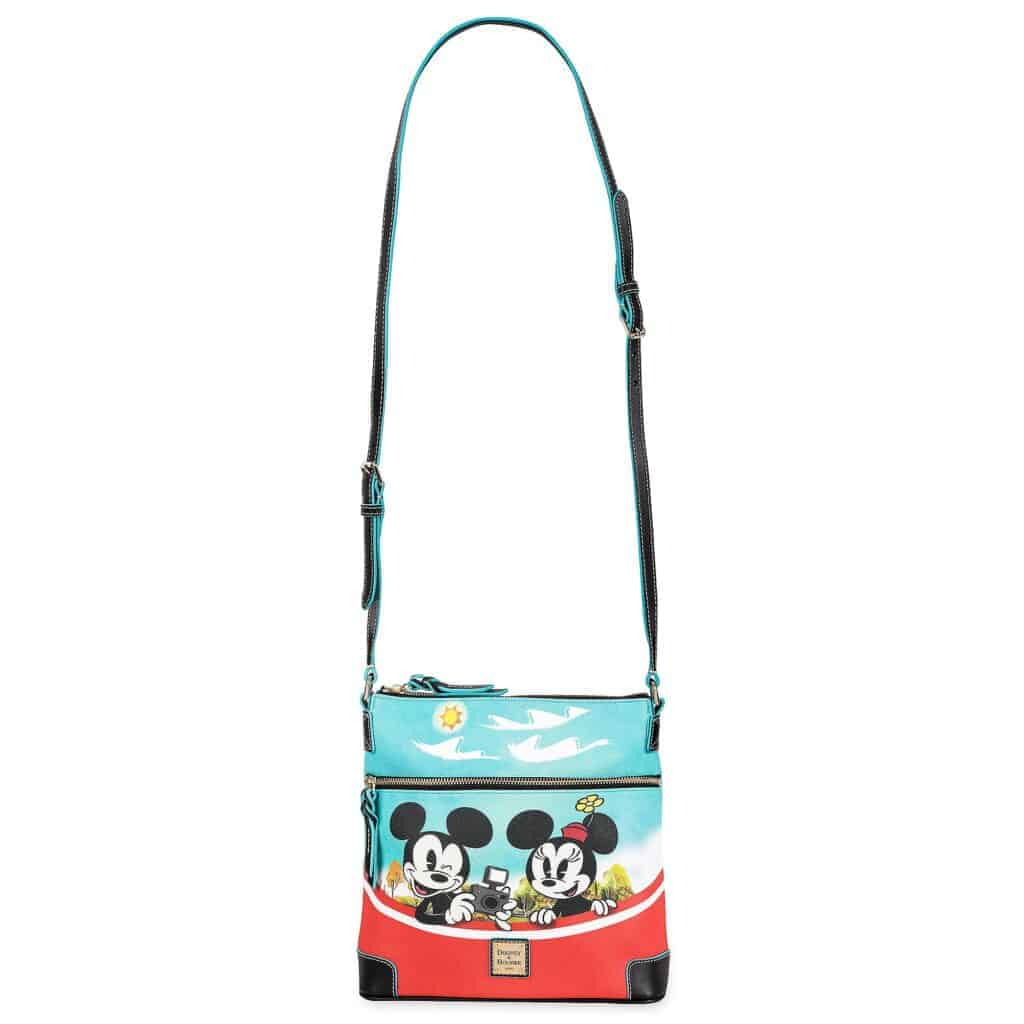 Mickey Mouse and Friends Skyliner Crossbody Bag (strap) by Dooney & Bourke