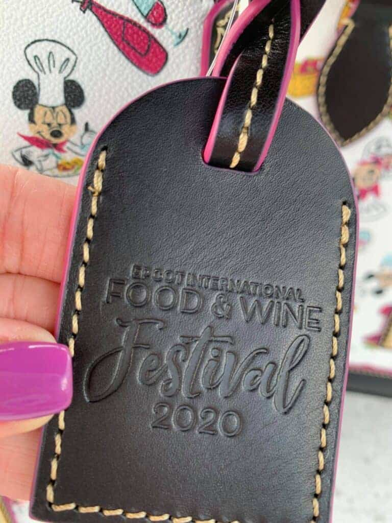 Food and Wine Festival 2020 Hangtag