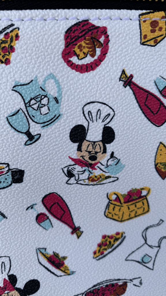 Food and Wine Festival 2020 Mickey Print Close Up