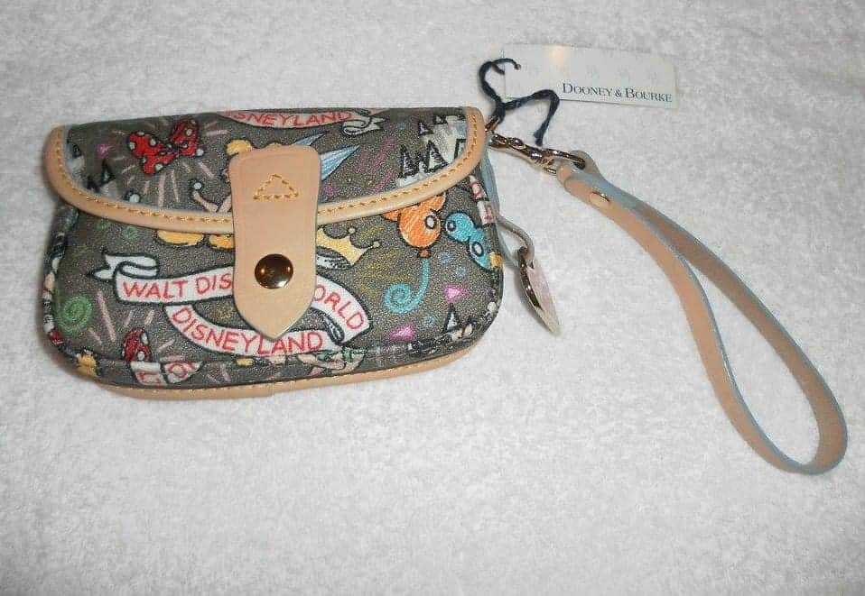 Gray Sketch Snap Wristlet OOAK