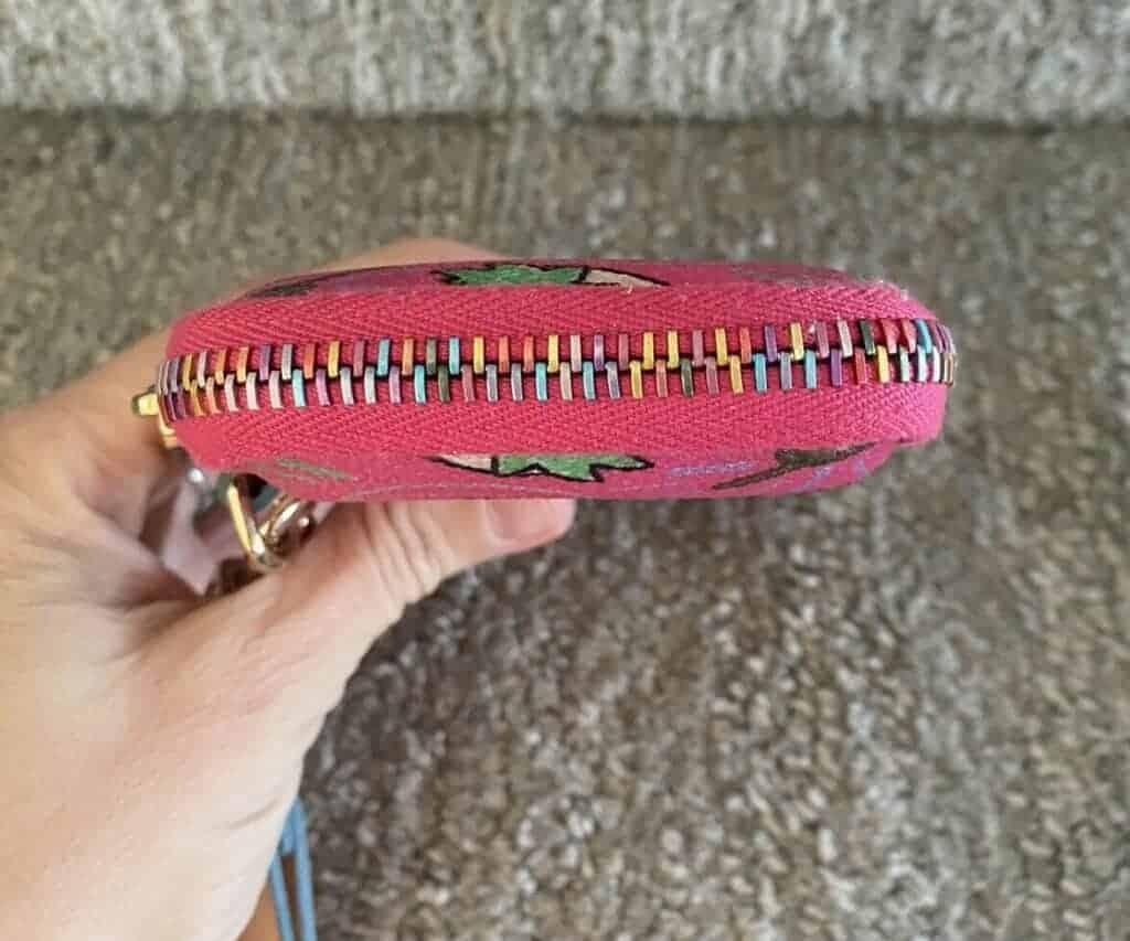 Pink Sketch Phone Case (zipper) OOAK
