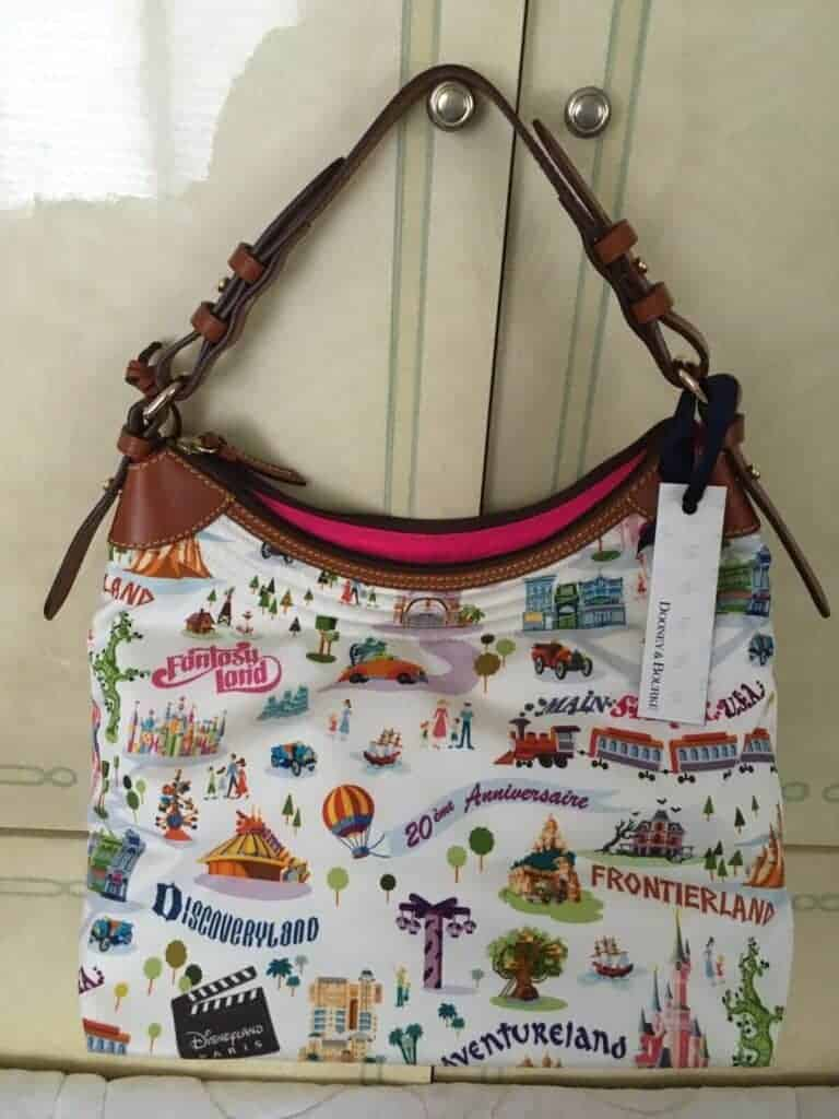 Disneyland Paris Retro Hobo OOAK (back)