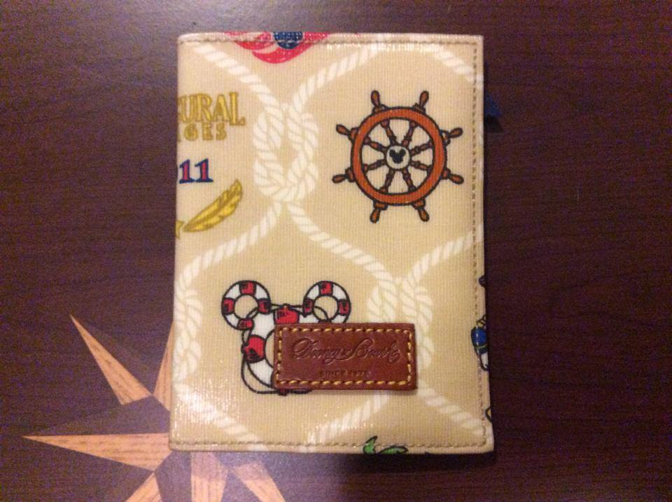 Disney Cruise Line Disney Dream Inaugural Passport Cover OOAK