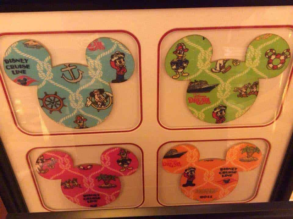 DCL Dream Inaugural Framed Swatches